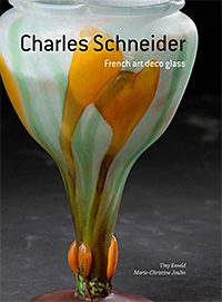 Book Cover: Charles Schneider French Art Deco Glass.
