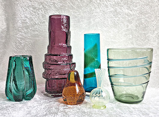 Selection of Glass by Whitefriars